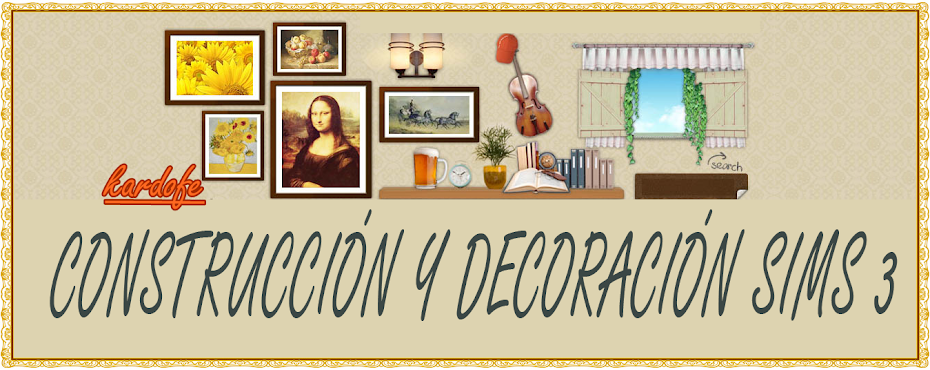 CONSTRUCCION Y DECORACION SIM 3