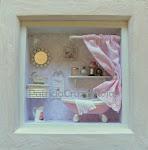 Bañito con miniatura, rosa