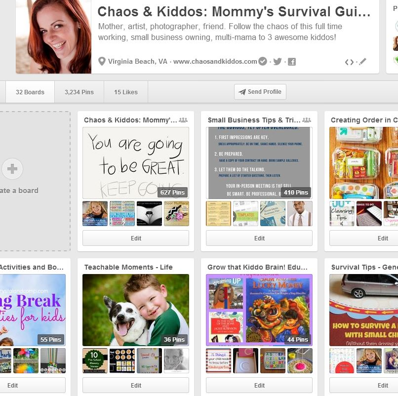 3 Mistakes I Made When I Started My Blog - Organized Pinterest Boards