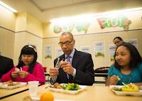 Nova York ganha primeira escola pública com merenda vegetariana