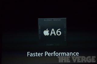 آيفون 5 يحمل معالج برقاقة A6