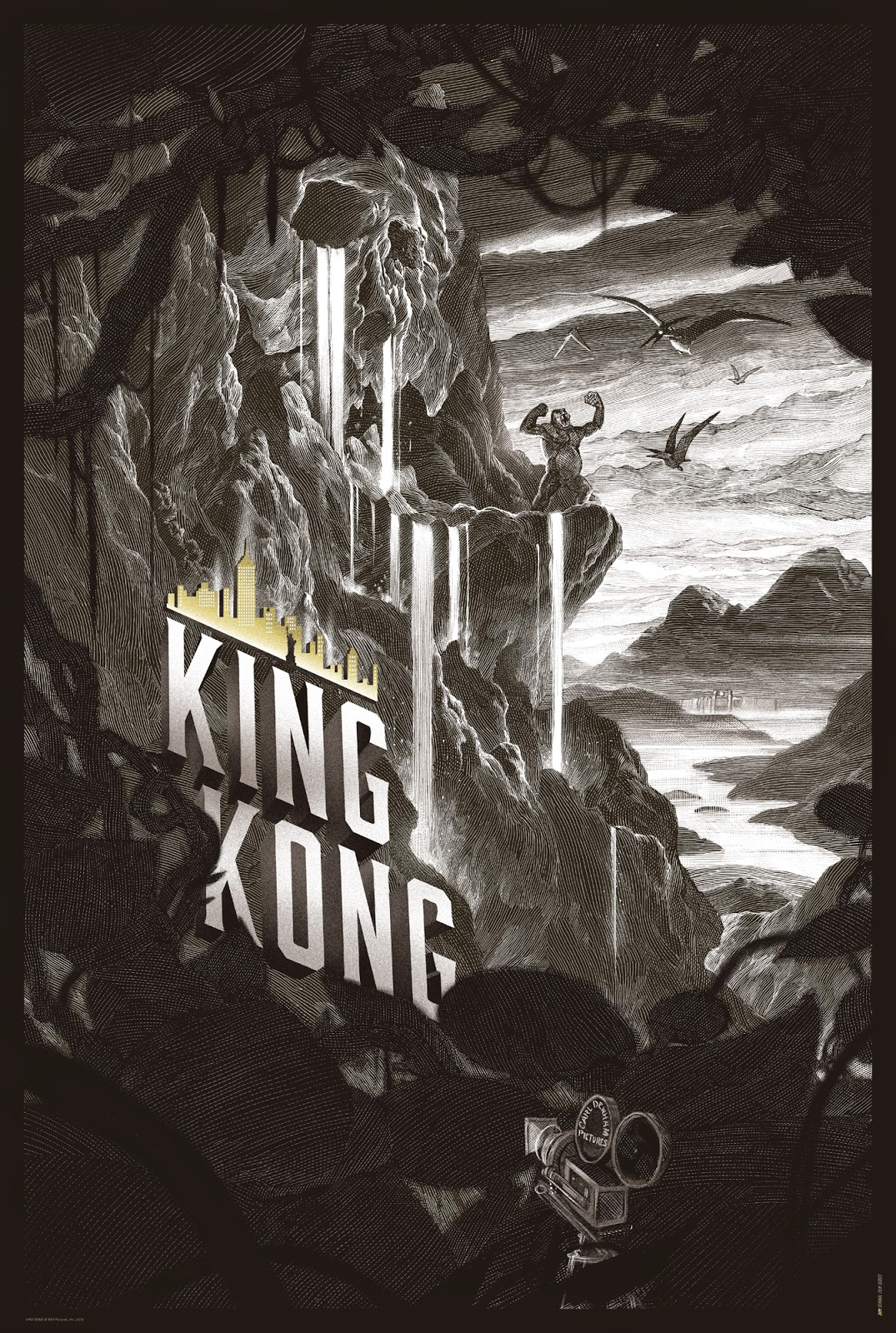 Poster Home Cinema King Kong