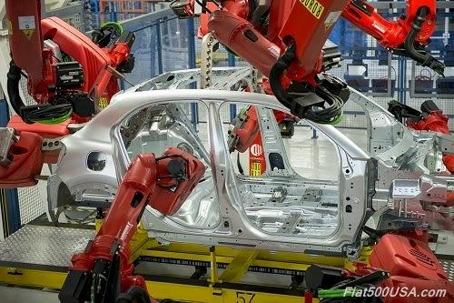 Fiat 500X Welding