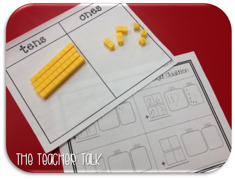Pre School Worksheets addition with regrouping worksheets using – Base 10 Addition Worksheets