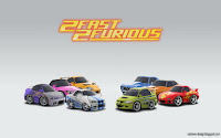 2fast 2furious cartown wallpaper