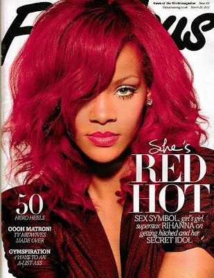 >Rihanna en couv' de Fabulous