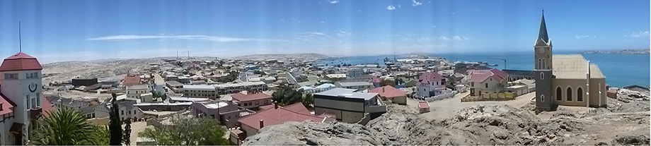 Ynas Reise Blog | Namibia | Felsenkirche in Lüderitz