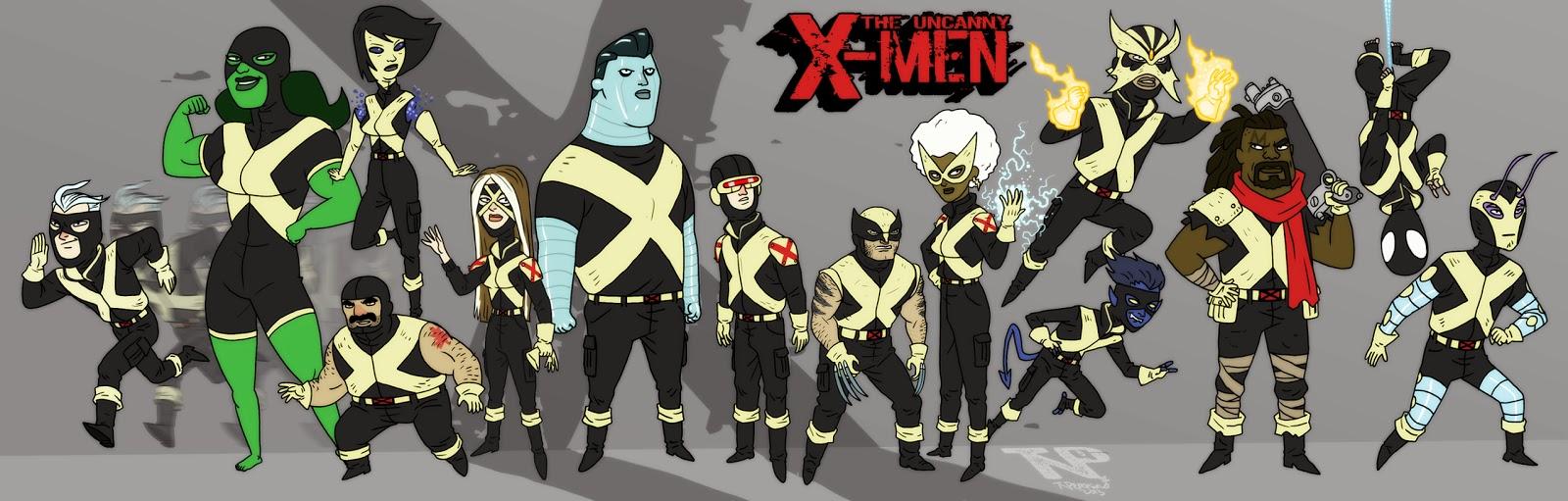 X-Men lineup