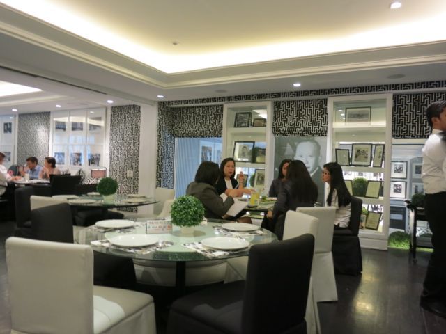 Romulo Cafe Function Room Rates
