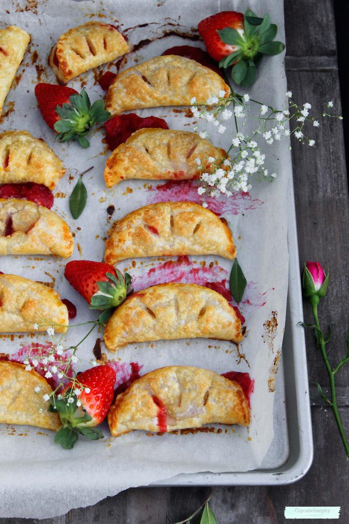 ideas de postres con fresas