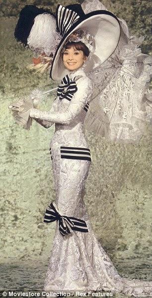 movie costume lovers ascot horse race dress my fair lady. Black Bedroom Furniture Sets. Home Design Ideas