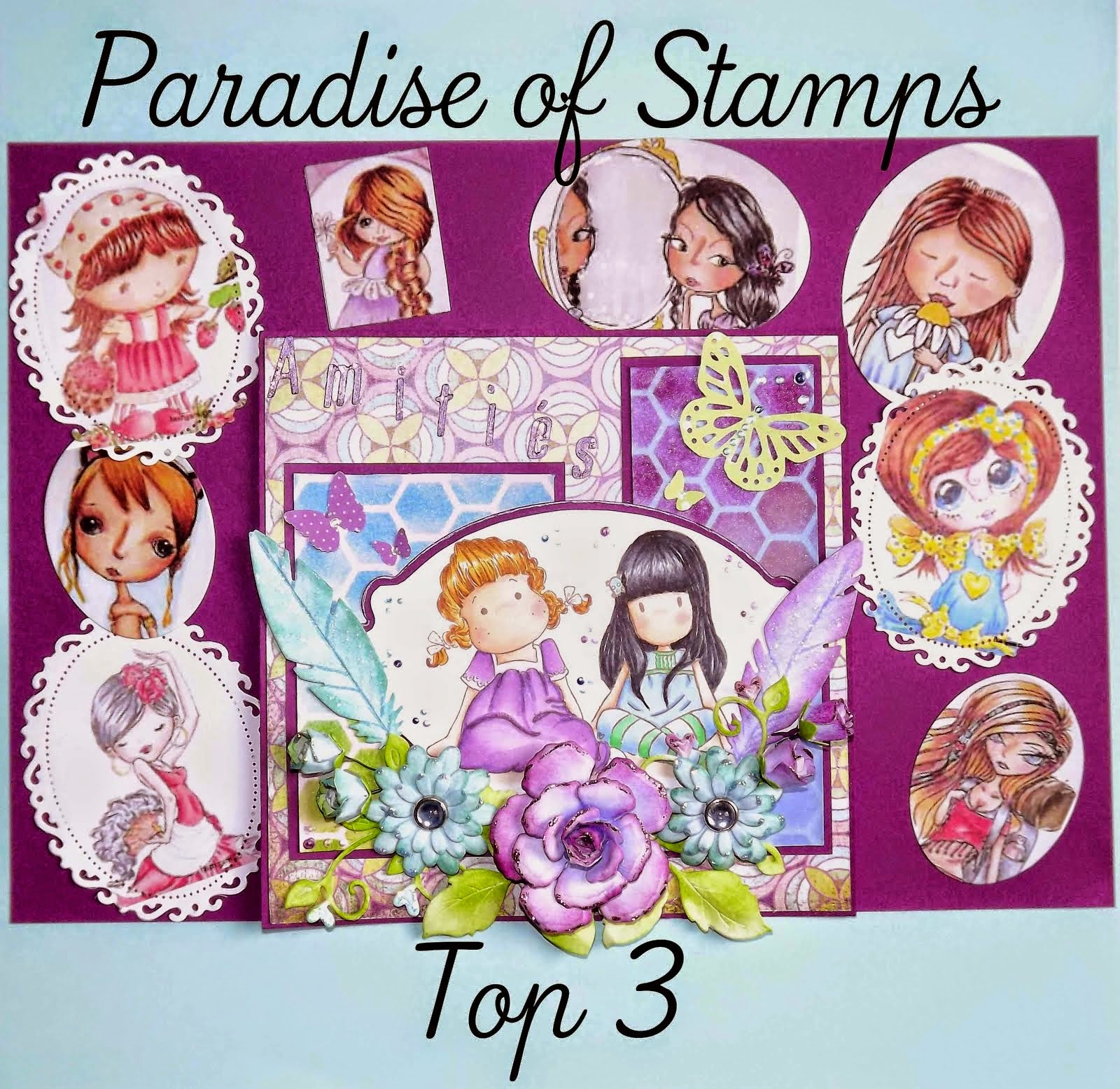 Top 3 Paradise of Stamps