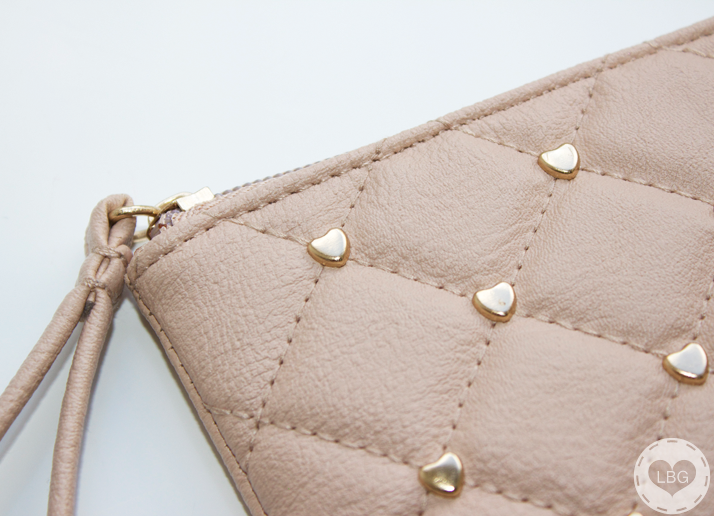 Primark Heart Studded Faux Leather Coin Purse
