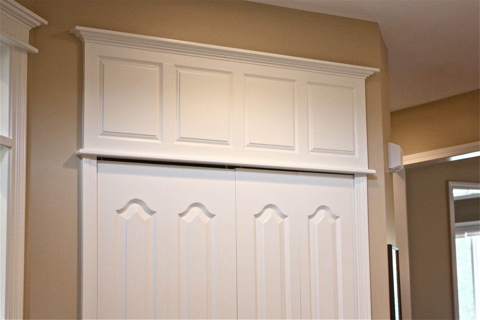How To Make Doors Appear Taller & The Yellow Cape Cod: How To Make Doors Appear Taller