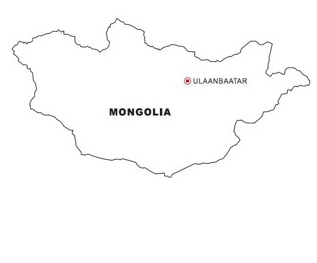 Laminas Para Colorear Coloring Pages Mapa Y Bandera De Mongolia Also ...