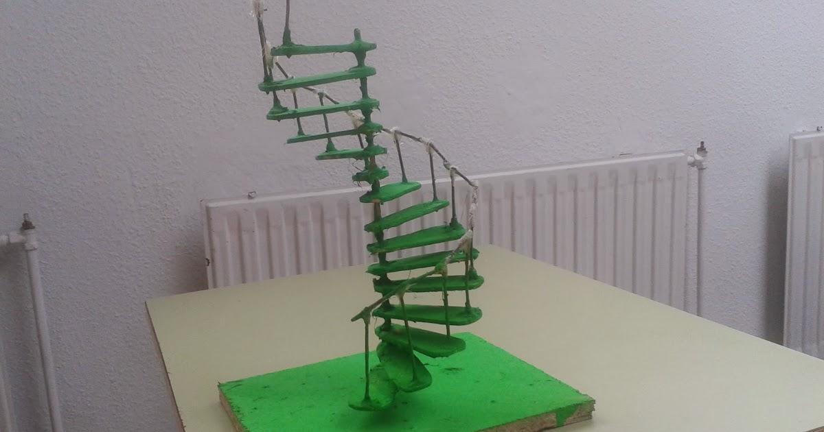 Aulas de b sica c mo hacer una escalera de caracol for Como hacer una escalera caracol