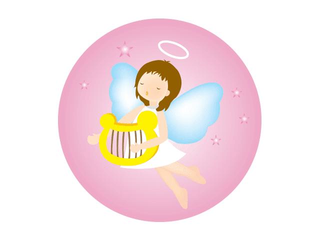 domawenet harp angel vector