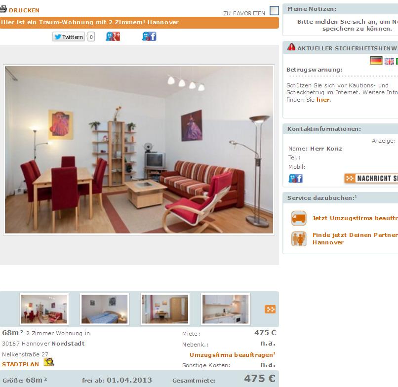 Wohnungsbetrug Blogspot Com Fritzkonz Yahoo De Fritz
