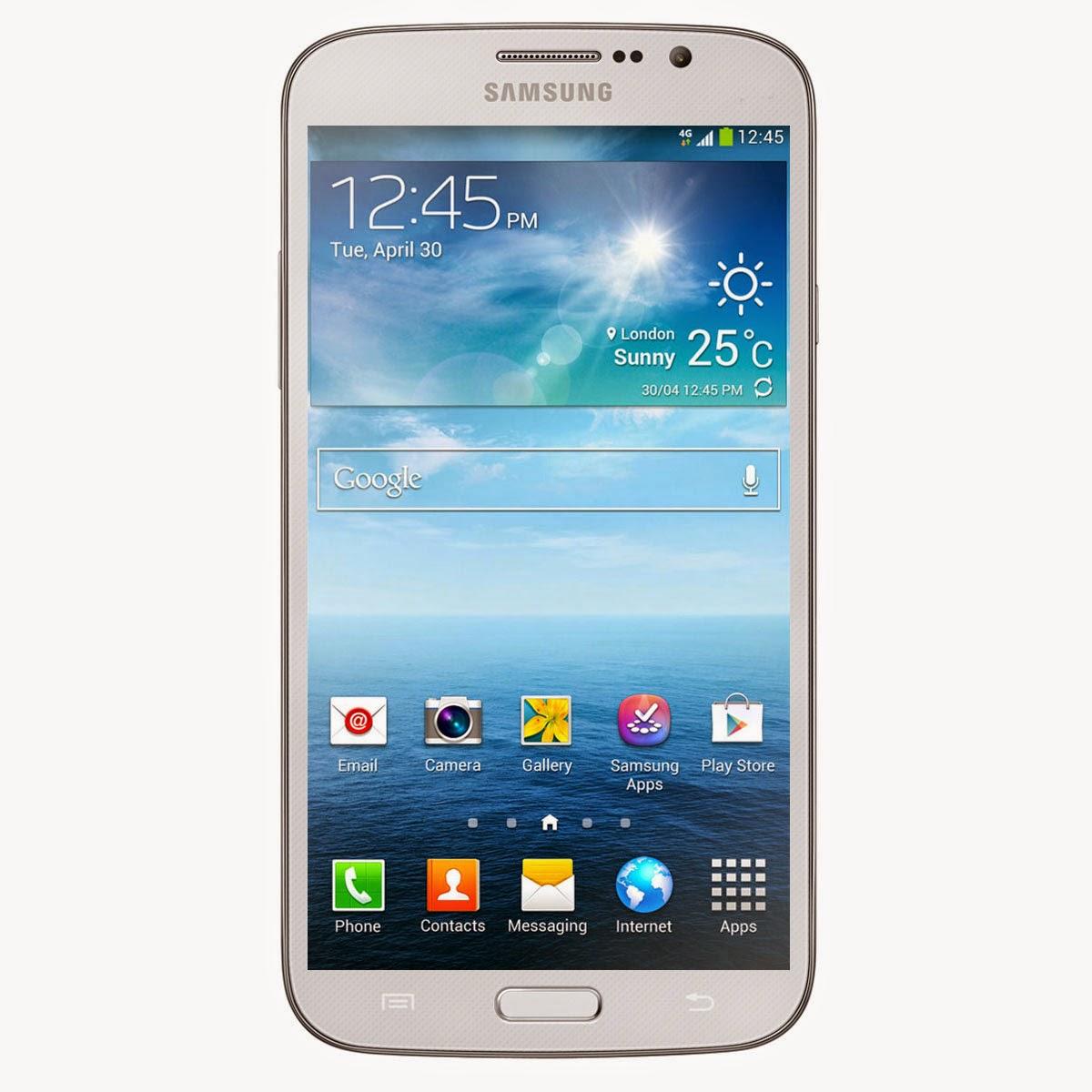 Smartphone Samsung Galaxy Mega Blanc 6.3 4G Lte