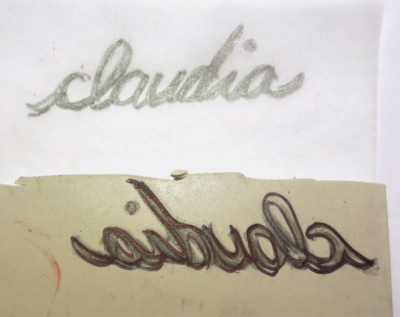 curvy name stamp