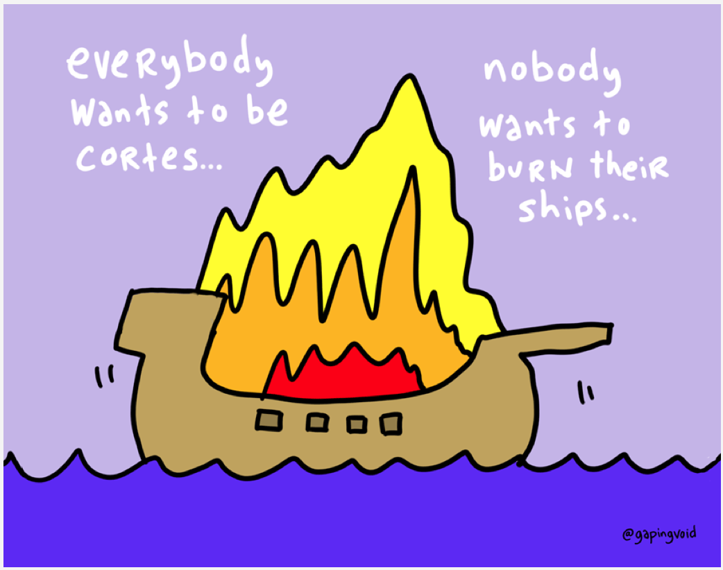 Hugh macleod s great work available at www gapingvoid com
