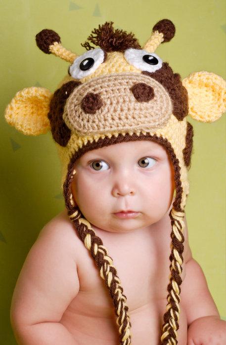 Modelos de gorros tejidos para bebé