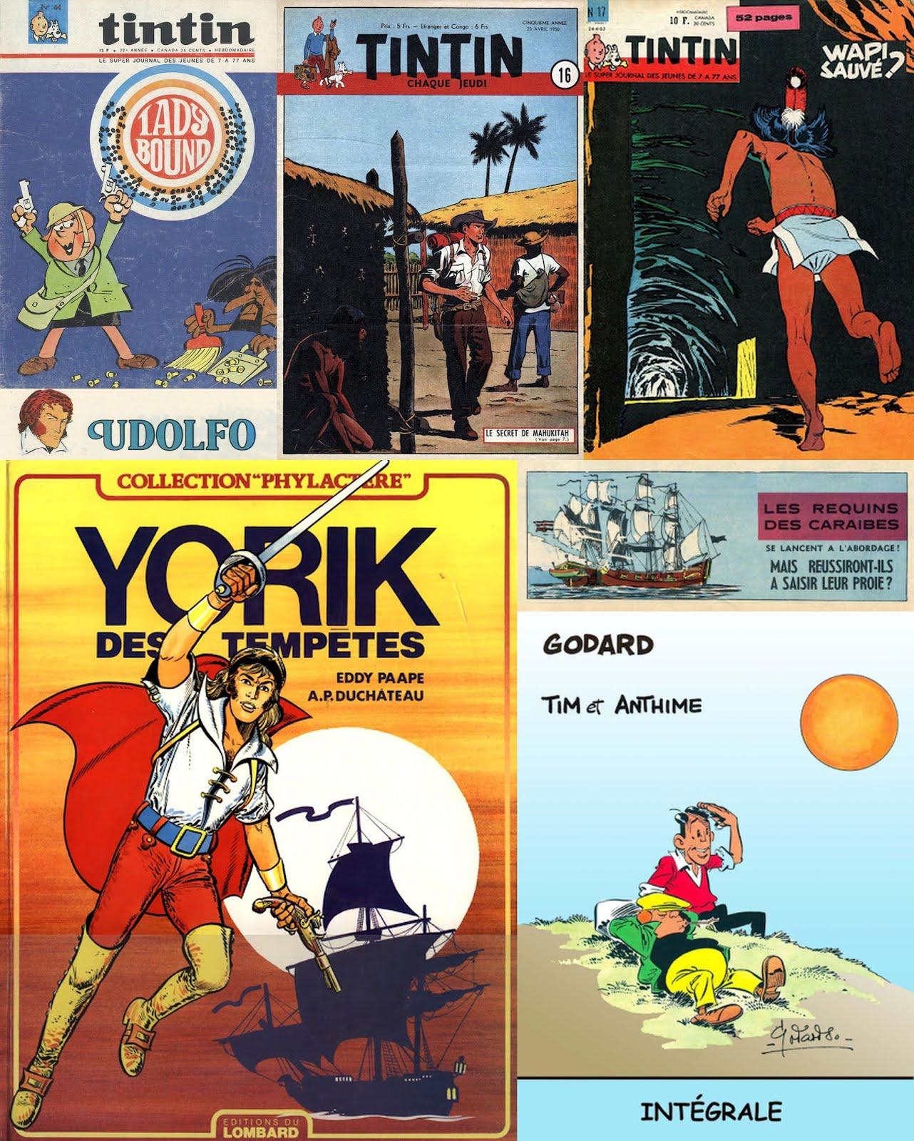 Séries éphémères de Tintin - Collection terminée