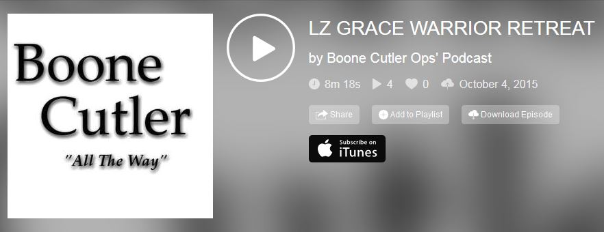LZ-Grace on Boone Cutler Podcast