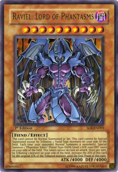 Yugioh featured cards raviel lord of phantasms soi en