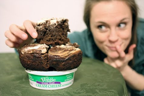 national cream cheese brownie day, steff deschenes, galaxy nutritional foods cream cheese review