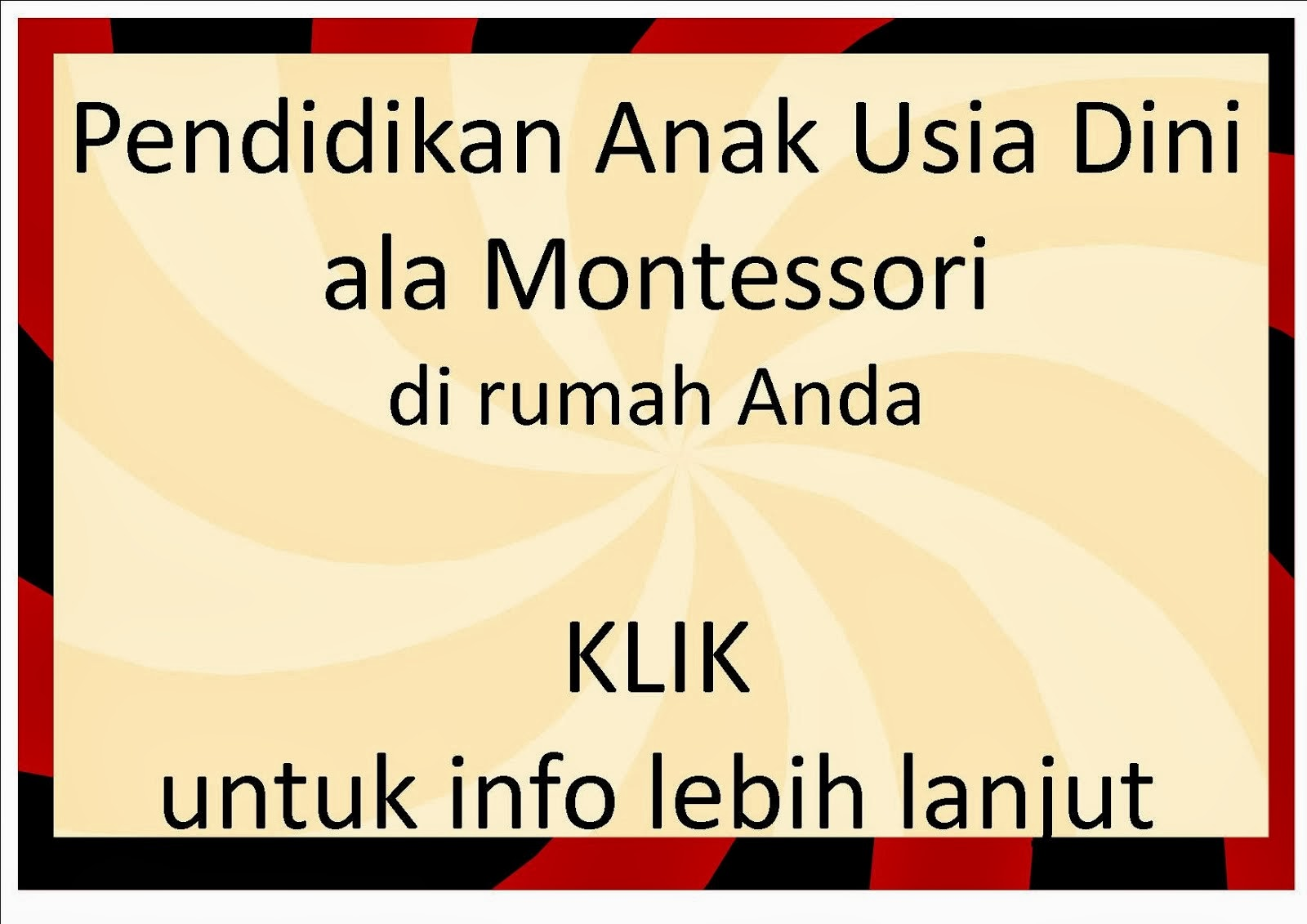 BUKU MONTESSORI