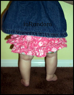 Ruffled Diaper Cover/Bloomers