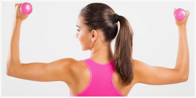 kesehatan : Gerakan Efektif Mengencangkan Lengan Untuk Wanita