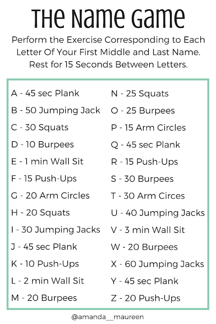 HIIT, Workout, Workout Wednesday