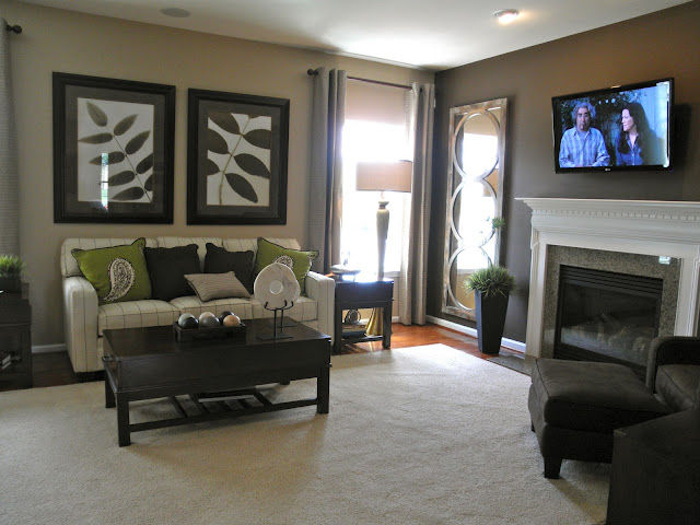 Dreaming of a ryan homes florence florence model pictures Model home family room pictures