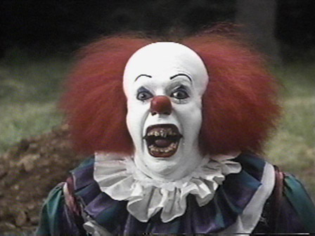 pennywise dancing clown. The Fears of a Clown