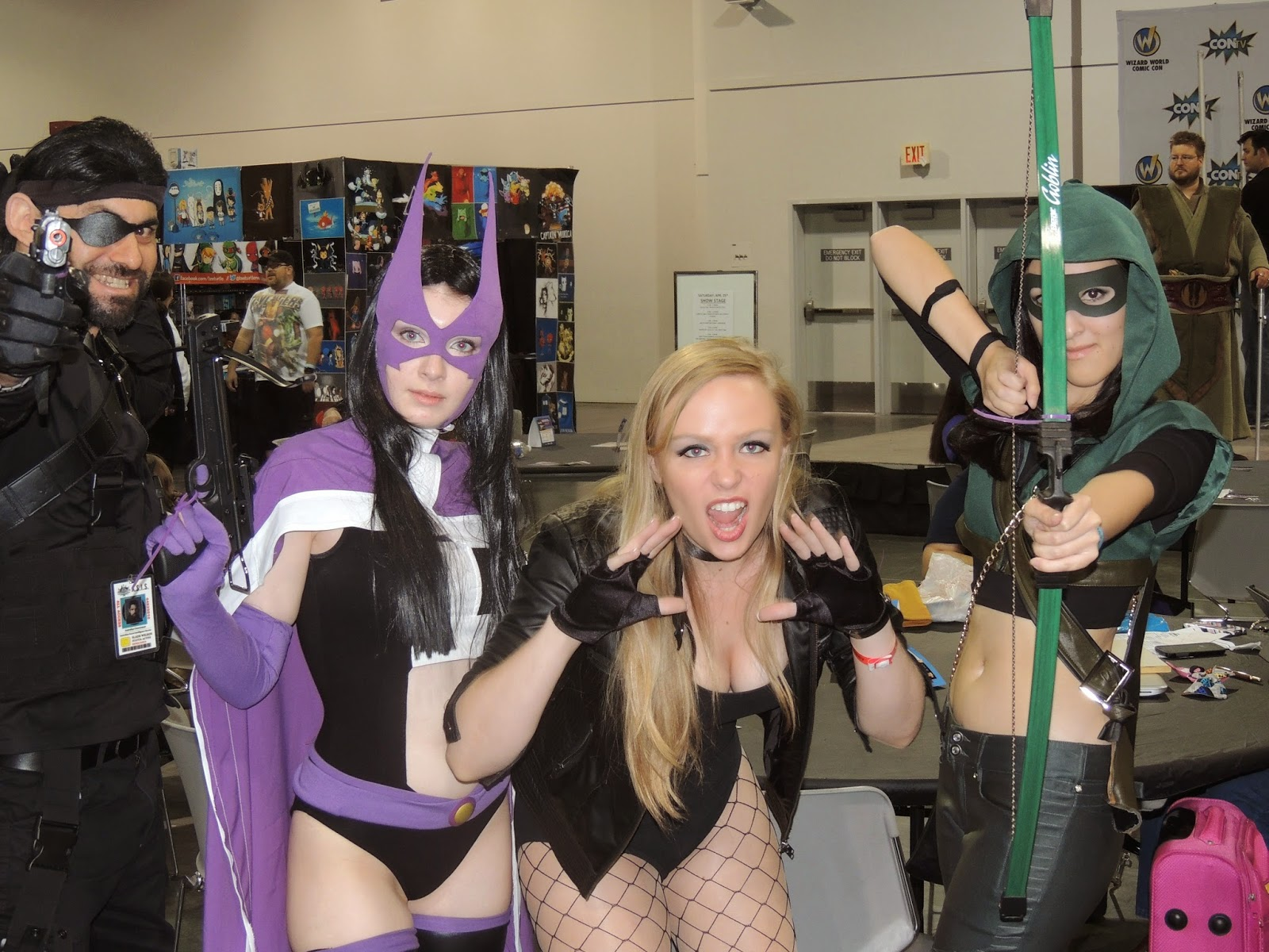 huntress-black-canary-las-vegas-convention-center