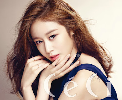 Jiyeon T-ara - Ceci Magazine May Issue 2015