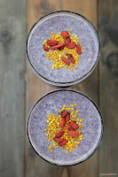 Coconut-Blueberry Ambrosia Smoothie