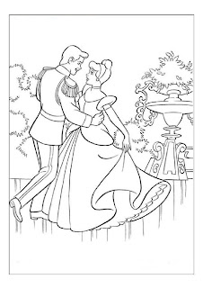Disney Cinderella Coloring Pages
