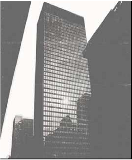 Mies vd Rohe, Seagram Building, New  York  (International Style) - 1954