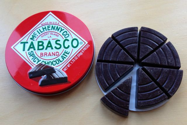 Tabasco Spicy Chocolate is vegan