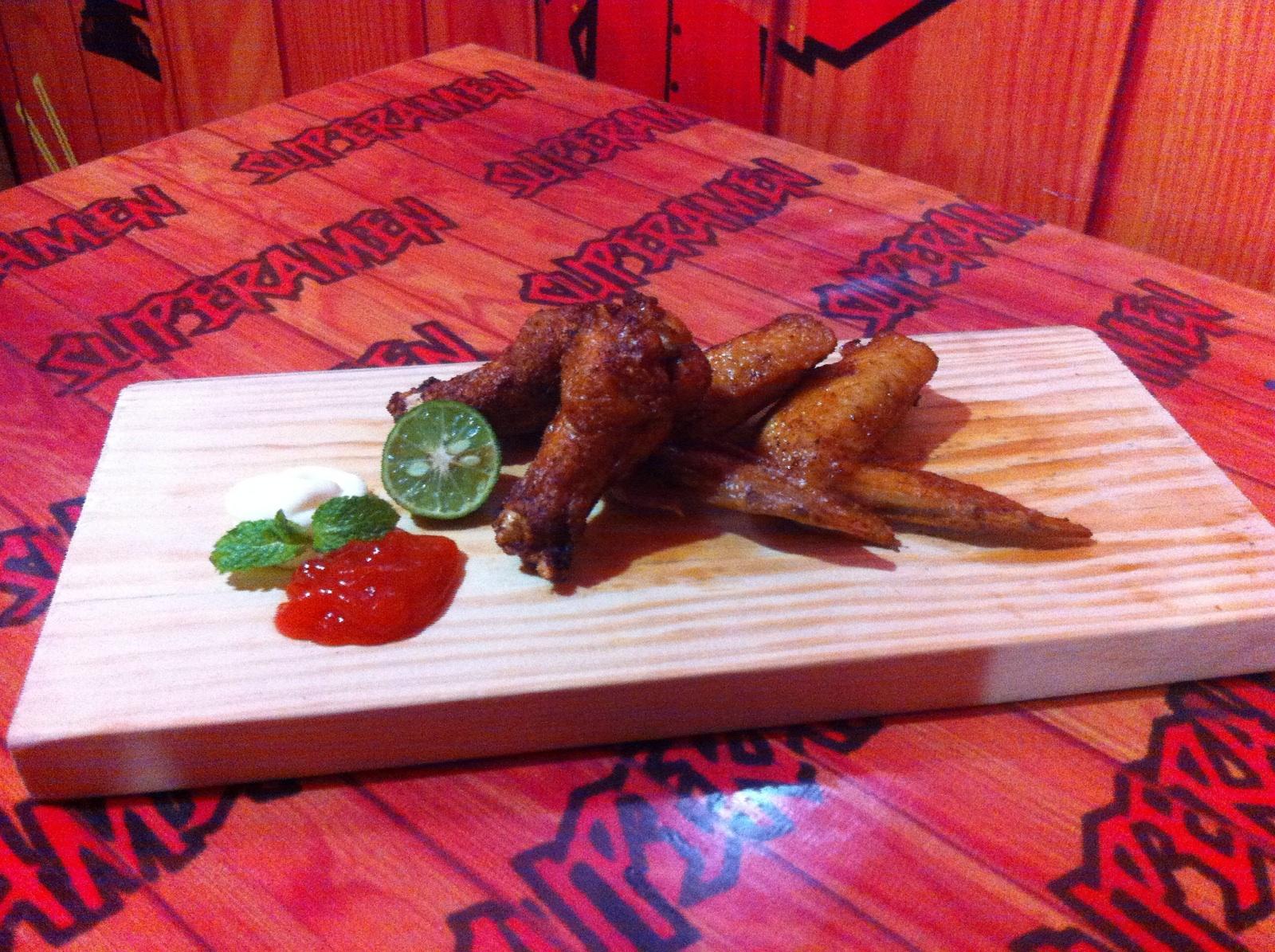 Spicy Chiken Wing - SupeRamen