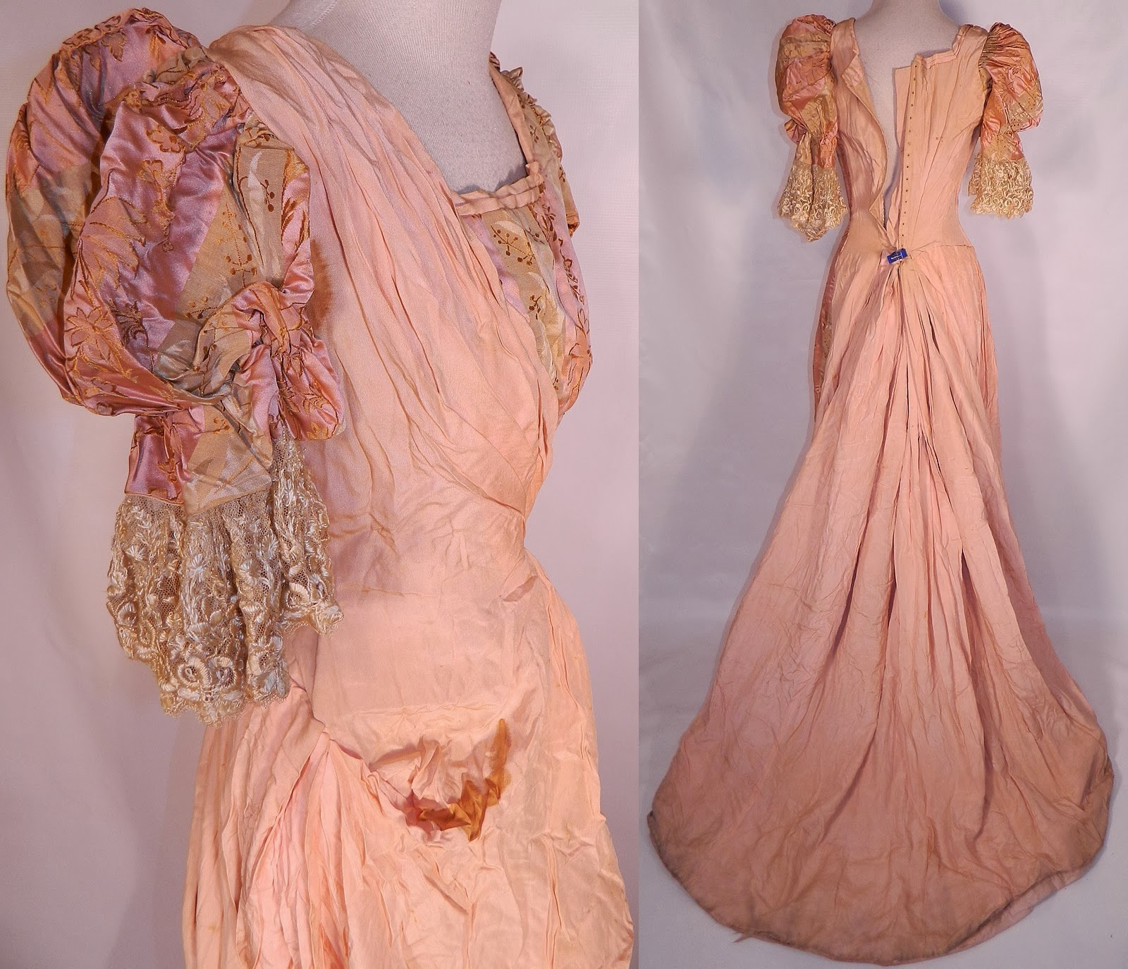 All The Pretty Dresses: Edwardian Pink Ball Gown