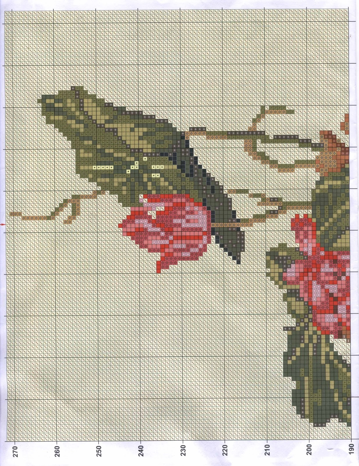 Схемы вышивки по китайским схемам 117