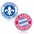 SV Darmstadt 98 - FC Bayern München