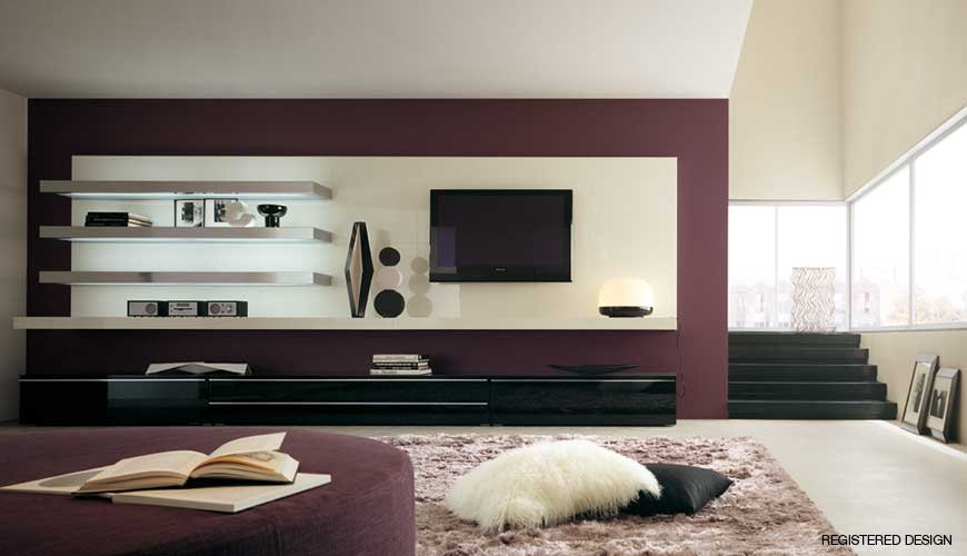 free designs and lifestyles: living room interior