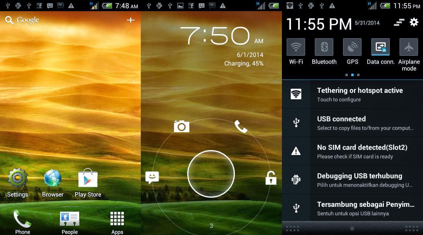Membuat Lenovo A390 Menjadi HTC Sense | Rom Terbaru!