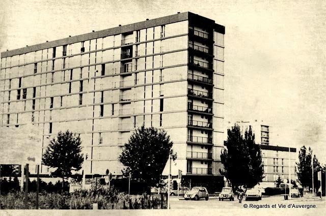 la ZUP de la Plaine de Clermont-Ferrand en 1975.