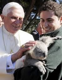 Pope and koala